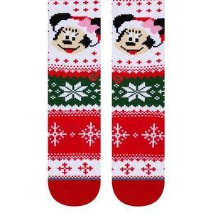 Stance Underwear & Socks - Stance Minnie Claus Crew Height Sock